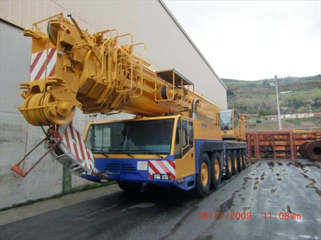 Gru DEMAG 72 Tons + Accessori